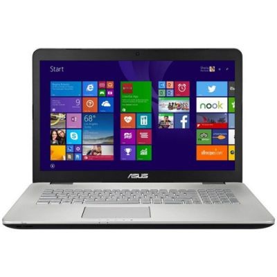 Ноутбук ASUS N751JX-T7121H BTS 90NB0842-M01350
