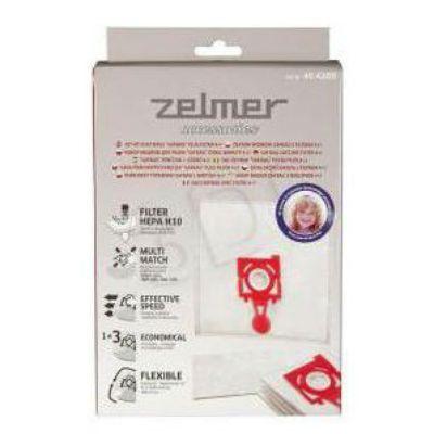 Пылесборник Zelmer ZVCA300B 4 мешка+впускной фильтр