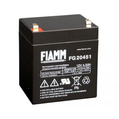 Аккумулятор Fiamm FG 20451 (12В 4.5Ач) FI-FG12/4.5