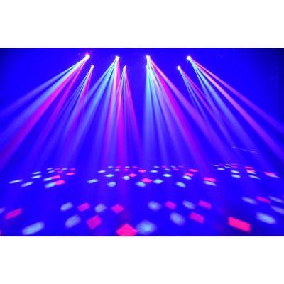 Ross Вращающаяся светодиодная голова узконаправленным светом и эффектом тоннеля Dazzling Led Beam 12х12w