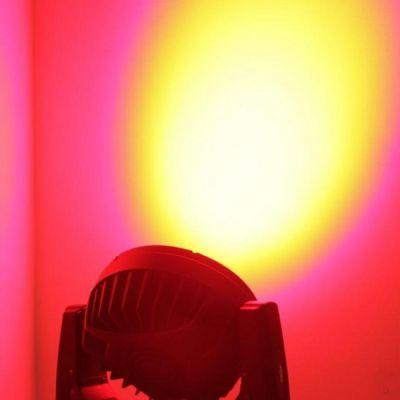 Ross Вращающаяся светодиодная голова Hit Zoom Led Rgbw 36x10w