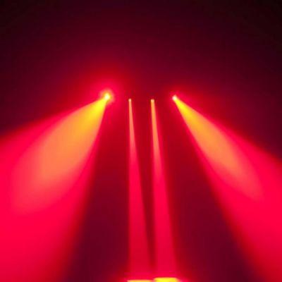 Ross Эффект с 4-я поворотными RGBW пинспотами Quad Moving Beam