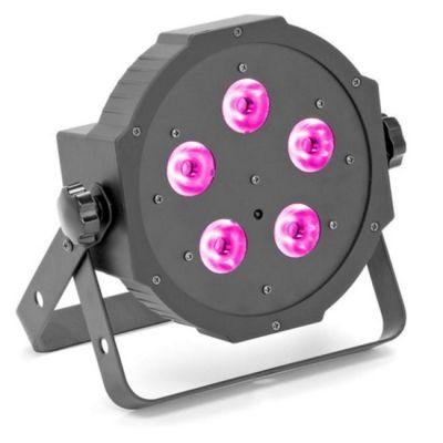 Ross компактный прожектор Led Flat Par Rgbw 5x10w Rc