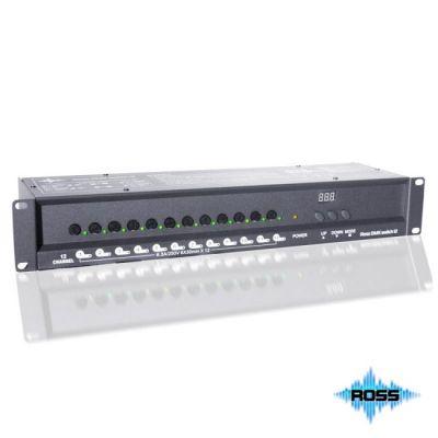 Ross ������� 12 ������� �� 5�, (16� �������� �� ����������) Dmx Switch 12