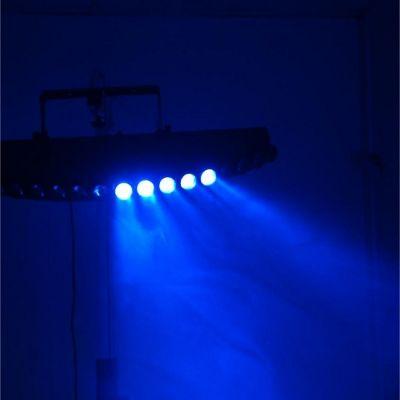 Ross Эффект с 19 тонкими RGB лучами, чейзами, пульсацией и стробоскопическим эффектом Sweeper Beam Rgb 19x10w