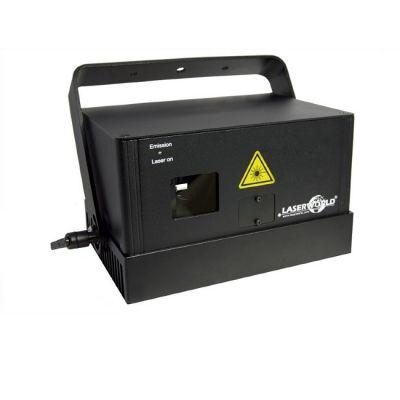 Laserworld Яркий синий лазерный проектор с мощной сканирующей системой 40kpps Ds1800b