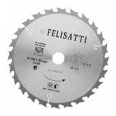 Диск Felisatti пильный 250х2.6_30-80Т Expert по багету твердосплавный 934960470