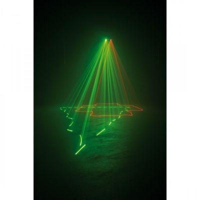 Adj лазерный проектор Duo Scan Rg (30g/80r)
