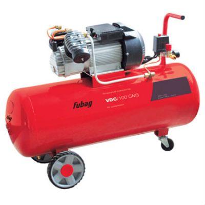 Компрессор Fubag VDC/100 CM3, 2.2 кВт 100 л 360 л/мин 8 бар 60.5 кг масляный 45681885