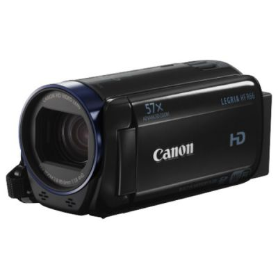 Видеокамера Canon Legria HF R66 черный 0279C003