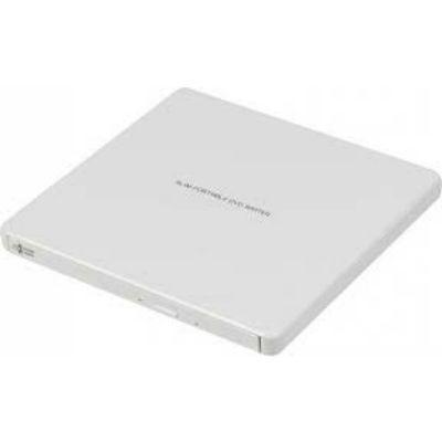 LG Привод DVD-RW белый USB ultra slim внешний RTL GP60NW60