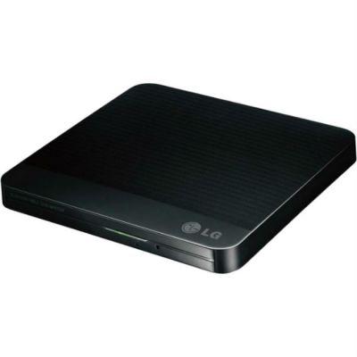 LG Привод DVD-RW черный USB ultra slim M-Disk внешний RTL GP80NB60