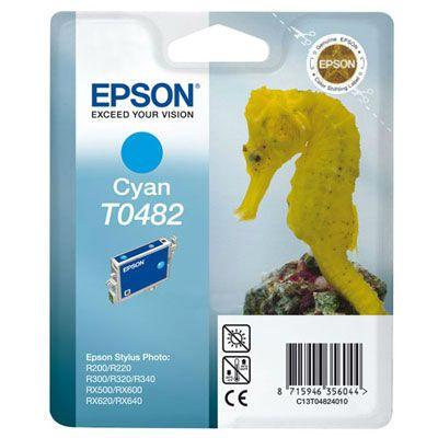 Картридж Epson Cyan/Голубой (C13T04824010)