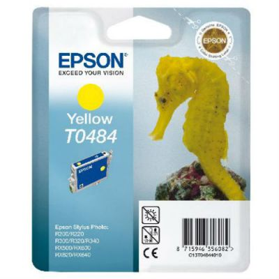 �������� Epson R200/300/RX500/600 yellow C13T04844010