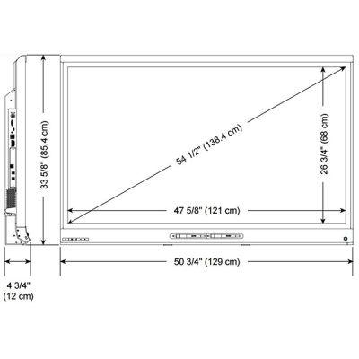 Интерактивный дисплей SMART Technologies Kapp-iq55
