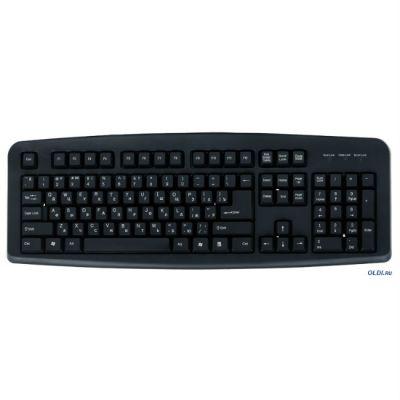Клавиатура 3Cott KB-110, USB, черная, 104 кл