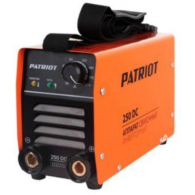 Аппарат Patriot 250DC MMA инвертор ММА DC 6.3 кВт (кейс в комплекте) 605302521