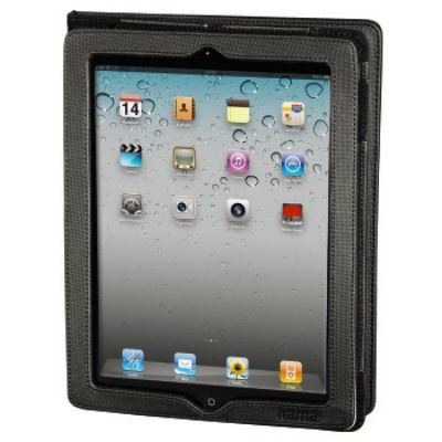 Чехол Hama для iPad 2/iPad new/iPad 4 Arezzo политекс черный (00104635)