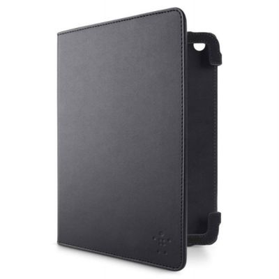 Чехол Belkin для Apple iPad Mini Классический Strap Cover F7N036VFC00 Искусственная кожа, Чёрный