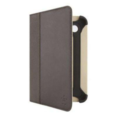 "Чехол Belkin для Samsung Tab 7"" Case Folio TPU SG-33 stand brown BLK-F8M388cwC01"