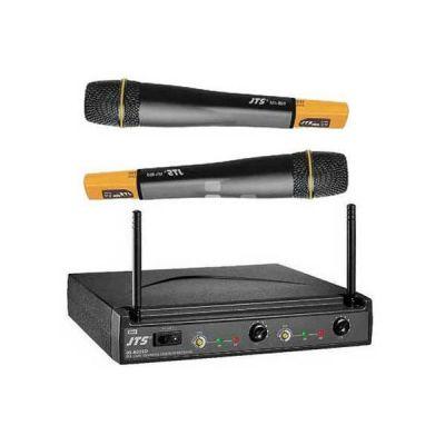 Микрофон JTS радиосистема c 2-мя ручными передатчиками US-8002D/Mh-750 x2