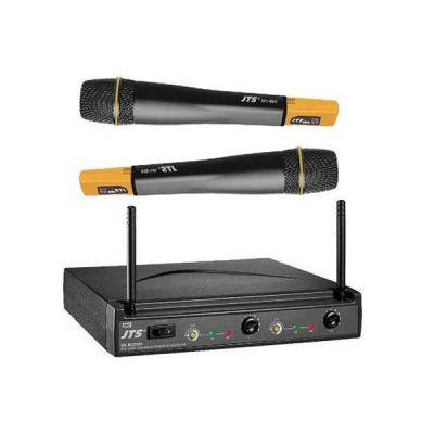 Микрофон JTS радиосистема с 2-мя ручными передатчиками US-8002D/Mh-850 x2