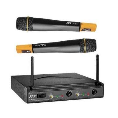 Микрофон JTS радиосистема с двумя ручными передатчиками US-8002DB/MH-850x2
