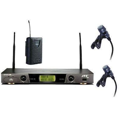Микрофон JTS радиосистема с 2-мя поясными передатчиками и 2-мя петличными микрофонами US-9030DC Pro/PT-900B x2/CM-501 x2