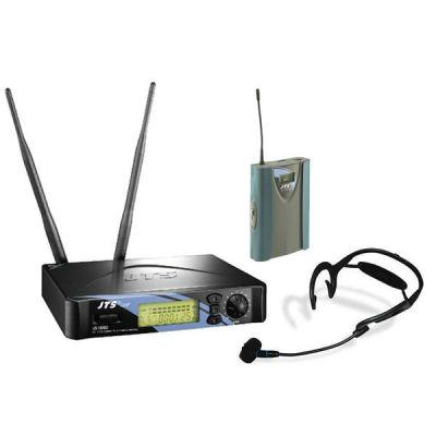 Микрофон JTS радиосистема c поясным передатчиком и гарнитурой US-1000D/PT-990B/CX-504