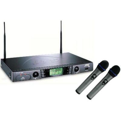 Микрофон JTS радиосистема c 2-мя ручными передатчиками US-903DC Pro/Mh-8800Gi x2