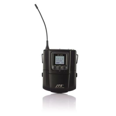 Микрофон JTS радиосистема с поясным передатчиком и петличным микрофоном UF-10R/UF-10TB+CM-501