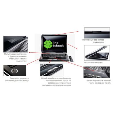 Ноутбук Toshiba Qosmio F50 - 12N