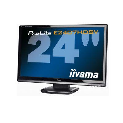 Монитор (old) Iiyama ProLite E2407HDSV-B1