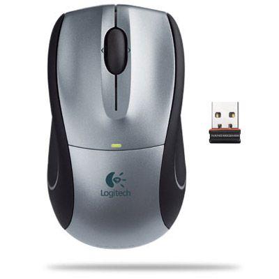 ���� Logitech ���� ������������ V450 Nano Light Grey 910-000855