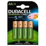 Батарейки Duracell 2400mAh AA (4шт. уп) HR6-4BL