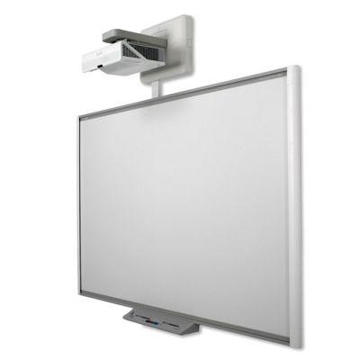 SMART Technologies Комплект SBM685iv5w: SMART Board SBM685 с пассивным лотком с проектором SMART U100w