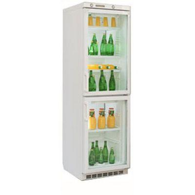Холодильная витрина Саратов 174 (КШМХ-335/125) белый (двухкамерный)