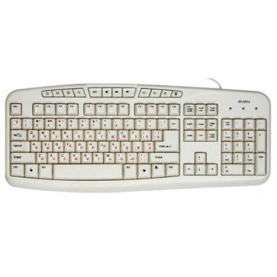 Клавиатура Sven comfort 3050 USB white