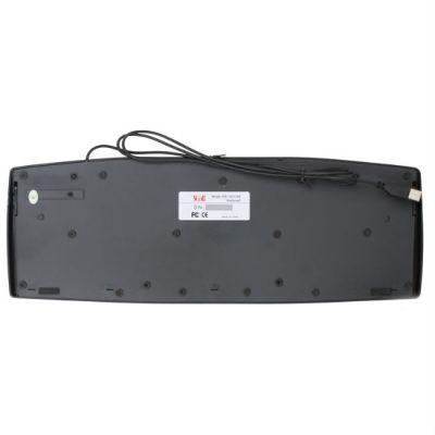 Клавиатура 3Cott KB-150, USB, черная, 107 кл.
