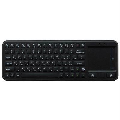 Комплект Upvel Манипулятор UM-516KB Компактная беспроводная полная 56 клавишная QWERTY клавиатура + TouchPad