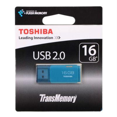 Флешка Toshiba 16GB USB Drive <USB 2.0> Hayabusa aqua (THNU16HAYAQA(6)