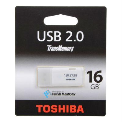 ������ Toshiba 16GB USB Drive <USB 2.0> Hayabusa white (THNU16HAYWHT(6/bl5)