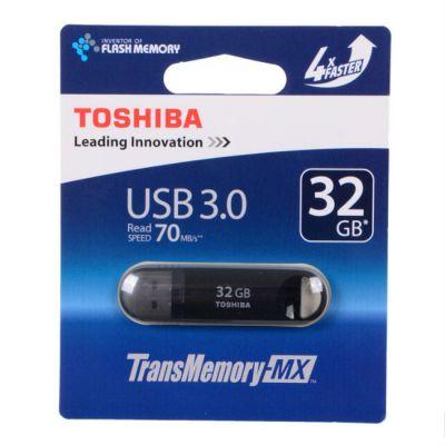 Флешка Toshiba 32GB USB Drive <USB 3.0> Suzaku black (THNV32SUZBLK(6)