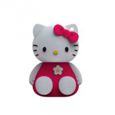 Флешка Iconik 8GB USB Drive <USB 2.0> HELLO KITTY Red (RB-HKP-8GB)
