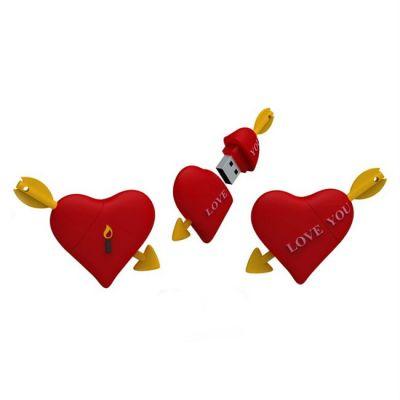 Флешка Iconik 16GB USB Drive <USB 2.0> Сердце (RB-HEART-16GB)