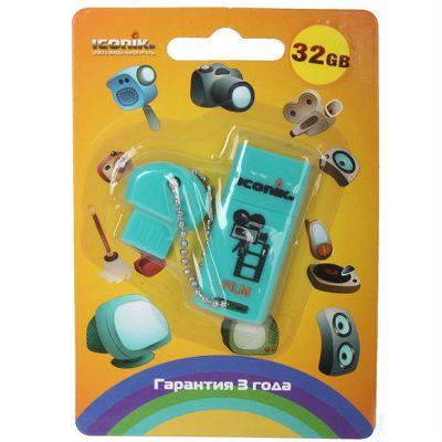 Флешка Iconik 32GB USB Drive <USB 2.0> Для фильмов (RB-FILM-32GB)