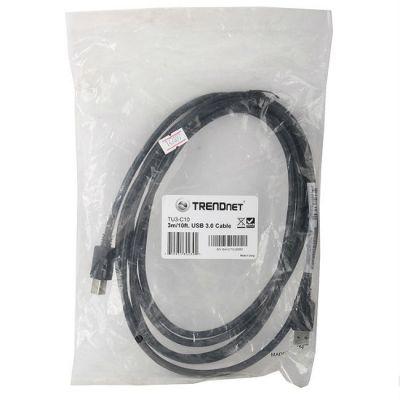 Кабель TrendNet USB 3.0 AM/BM TU3-C10 3m