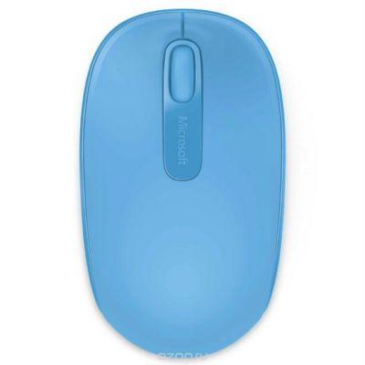 Мышь беспроводная Microsoft 1850 Cyan Blue U7Z-00058