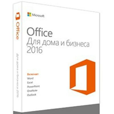 Программное обеспечение Microsoft Office Home and Business 2016 32-bit/x64 Russian Russia Only DVD T5D-02292