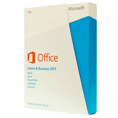 Программное обеспечение Microsoft Office Home and Business 2013 32/64 English CEE Only EM DVD T5D-01598
